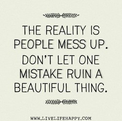 THE REALITY IS 