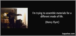 I'm trying to assemble materials for a 