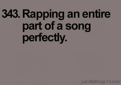 343. Rapping an entire 