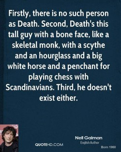 Firstly, there is no such person 