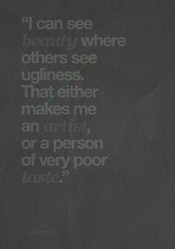 can see 