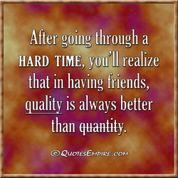 After going through a 
