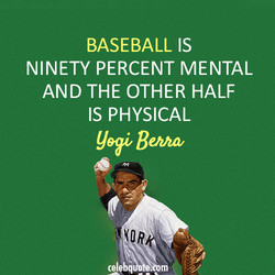 BASEBALL IS 