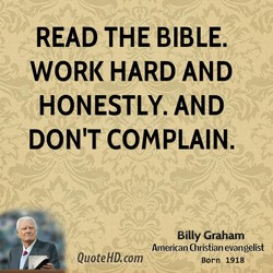 READ THE BIBLE. 