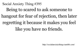 Social Anxiety Thing #395 