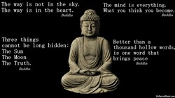The way is not in the sky. 