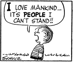 I LOVE MANKIND... 