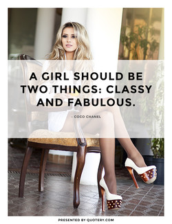 A GIRL SHOULD BE 