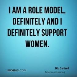 I AM A ROLE MODEL, 