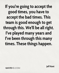 If you're going to accept the 