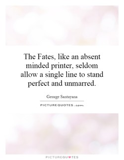 The Fates, like an absent 