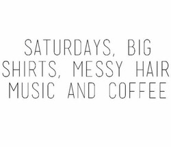 SATURDAYS BIG 