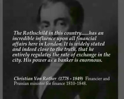 The Rothschild in this coun 