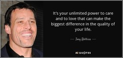 It's your unlimited power to care 