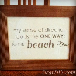 my sense of direction 