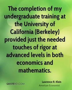 The completion of my 