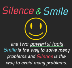 Silence & Smile 