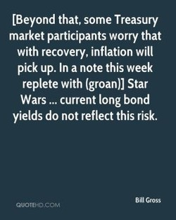 [Beyond that, some Treasury 