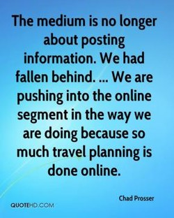 The medium is no longer 