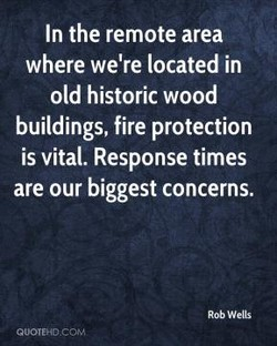 In the remote area 