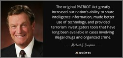 The original PATRIOT Act greatly 