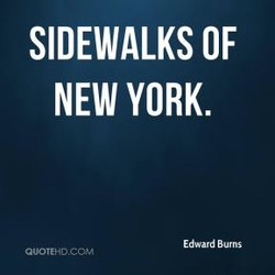 SIDEWALKS OF 