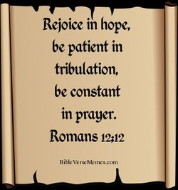 Rejoice in hope, 