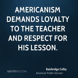 AMERICANISM 