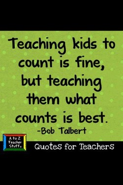 Teaching kids fo 