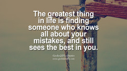 The greatest thing 