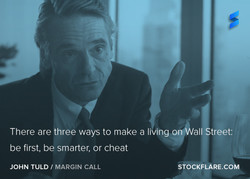 There are three ways to make a living 