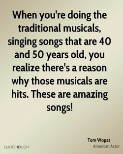 When you're doing the 