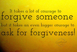 takes a lot of courage to 