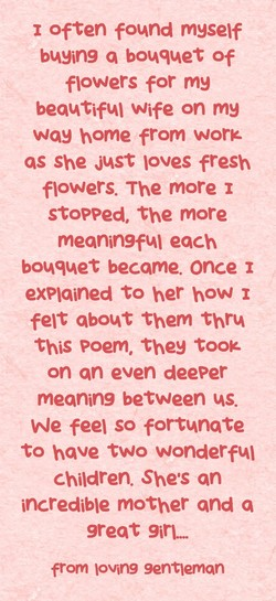 1 often found myself 