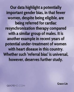 Our data highlight a potentially 