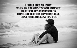 I SMILE LIKE AN IDIOT 