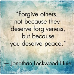 llForgive others, 