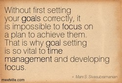 Without first setting 