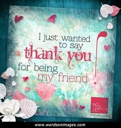 I just wanted 