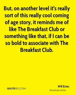 But, on another level it's really 