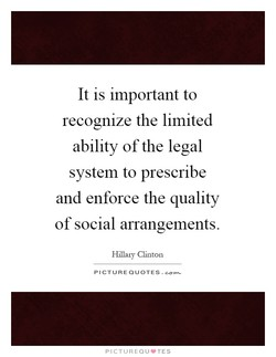 It is important to 