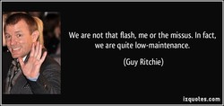 We are not that flash, me or the missus. In fact, 