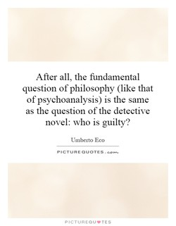 After all, the fundamental 