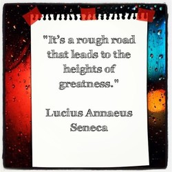 % It's a rou# road 