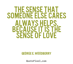 THE SENSE THAT 