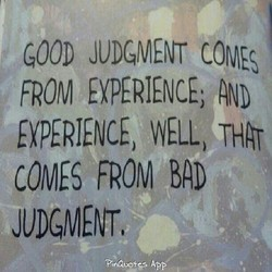 GOOD JUDGMENT 