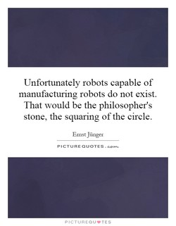 Unfortunately robots capable of 