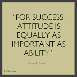 'FOR SUCCESS, 