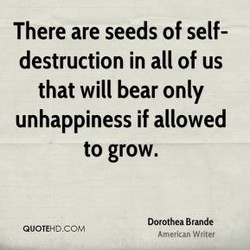 There are seeds of self- 