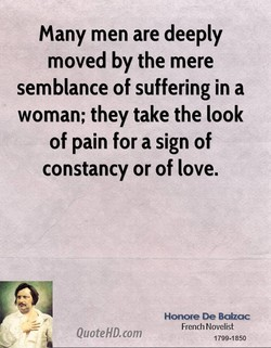 Many men are deeply 